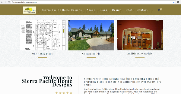 sierrapacifichomedesigns.com project