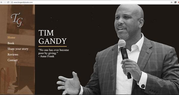 TimGandyBooks.com  project